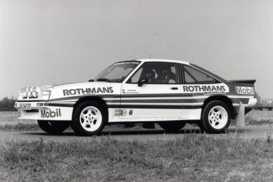 Opel Manta 400 Rally